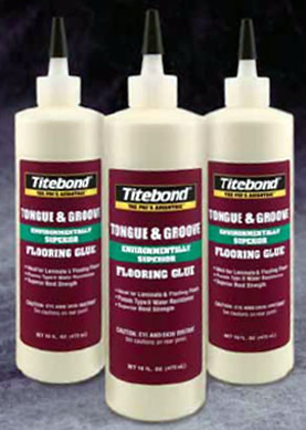 Titebond® Tongue U0026 Groove Flooring Glue