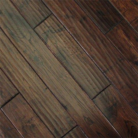 Metropolitan Wood Floors : Johnsons Hardwood Flooring Maple Handscraped AME-S12709 Chestnut