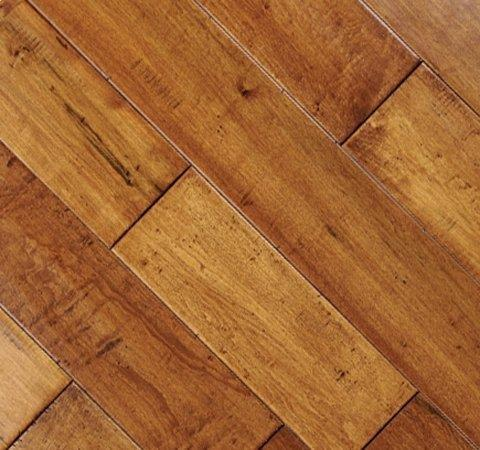 Metropolitan Wood Floors : Johnsons Hardwood Flooring Maple Handscraped AME-S12745 Champagne