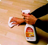 Protect Clean Laminate Wood Floors - Clean laminate wood floors