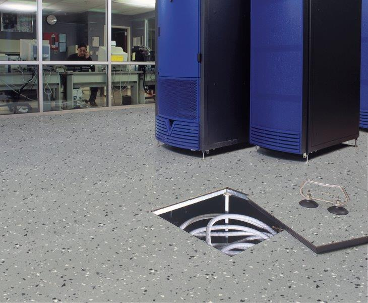 Conductive Static Dissipative Rubber Sheet Sport Flooring